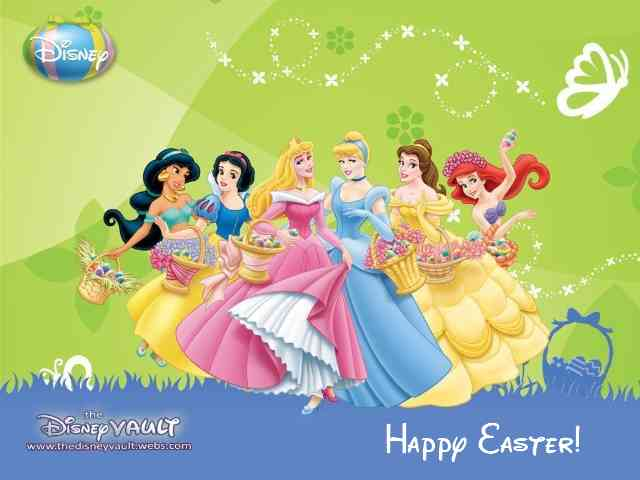 Disney Happy Easter #573} puzzle ecard game