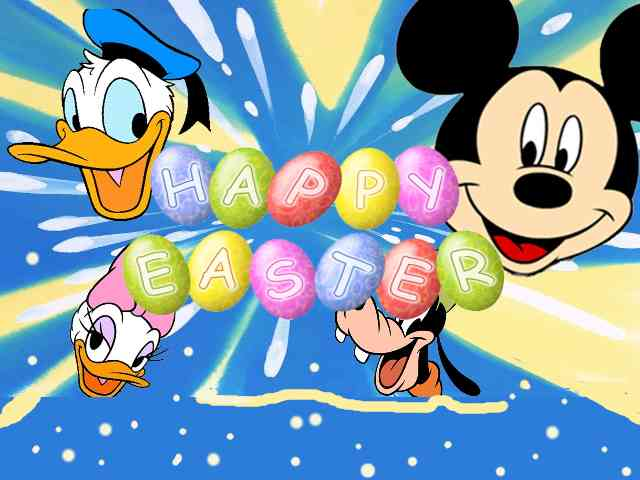 Disney Happy Easter #574} puzzle ecard game