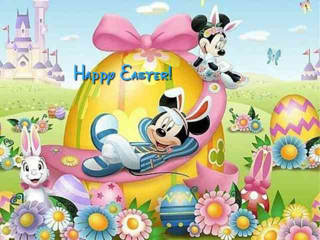 Disney Happy Easter #576} puzzle ecard game