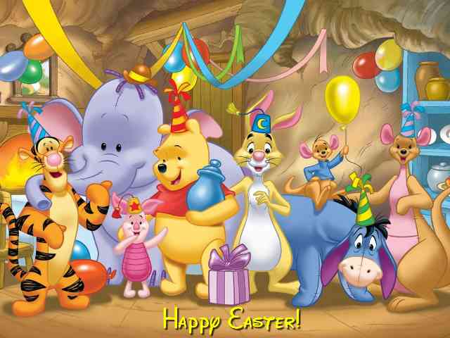 Disney Happy Easter #577} puzzle ecard game