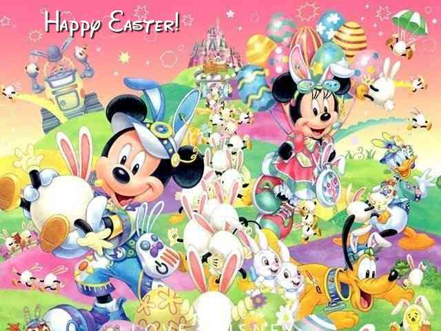 Disney Happy Easter #578}