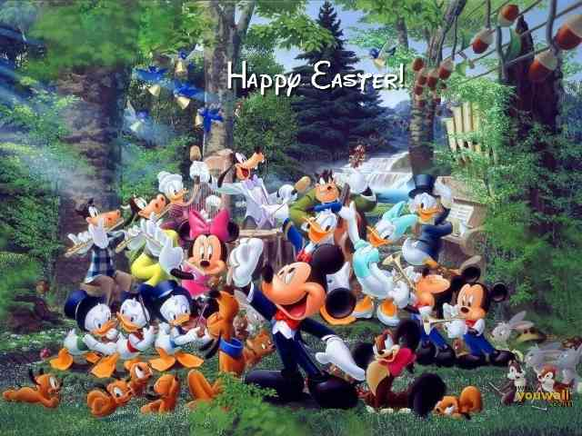 Disney Happy Easter #579}