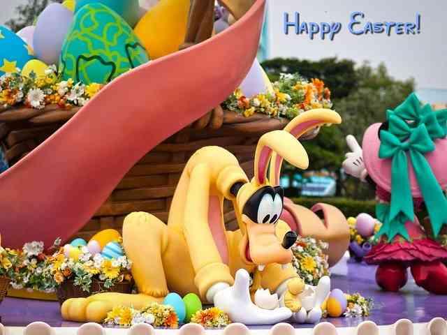 Disney Happy Easter #581}